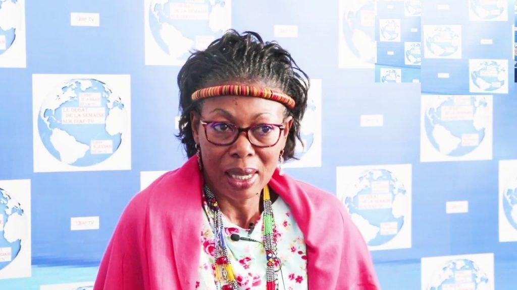 Maximilienne Ngo Mbe, présidente du Réseau africain de défense des droits de l'homme en Afrique centrale (REDDHAC)