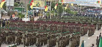 Défilé des militaires au Boulevard du 20 mai à Yaoundé