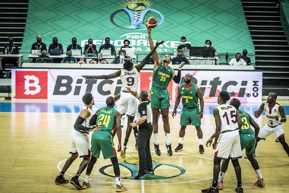 AFROBASKET 2021 LES LIONS DU CAMEROUN vs L'OUGANDA